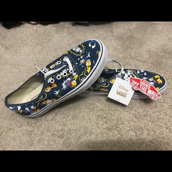 ab1c486b6e Brand NEW Donald Duck Vans - disney size 8 unisex